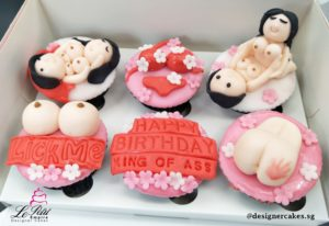 Adult Cup Cakes - Boobs, Ass with a slap.