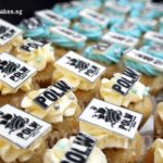 Customized Logo Mini Cup Cakes - POLW Port Of Lost Wonders Sentosa.