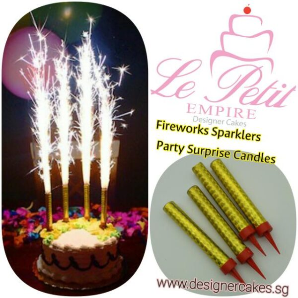 Cake Decorating Supplies - Fireworks - Sparklers - Candles